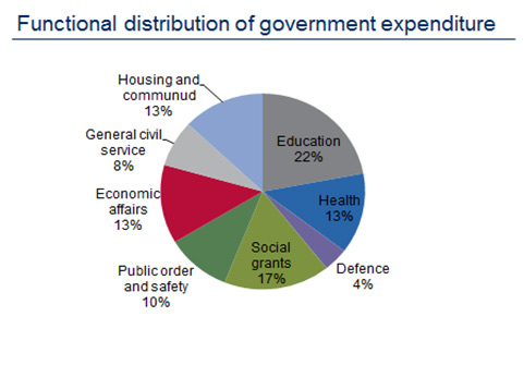 Functional Distribution of Government Expenditure